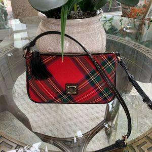 DOONEY & BOURKE RED TARTAN PLAID CROSSBODY BAG! ❤️